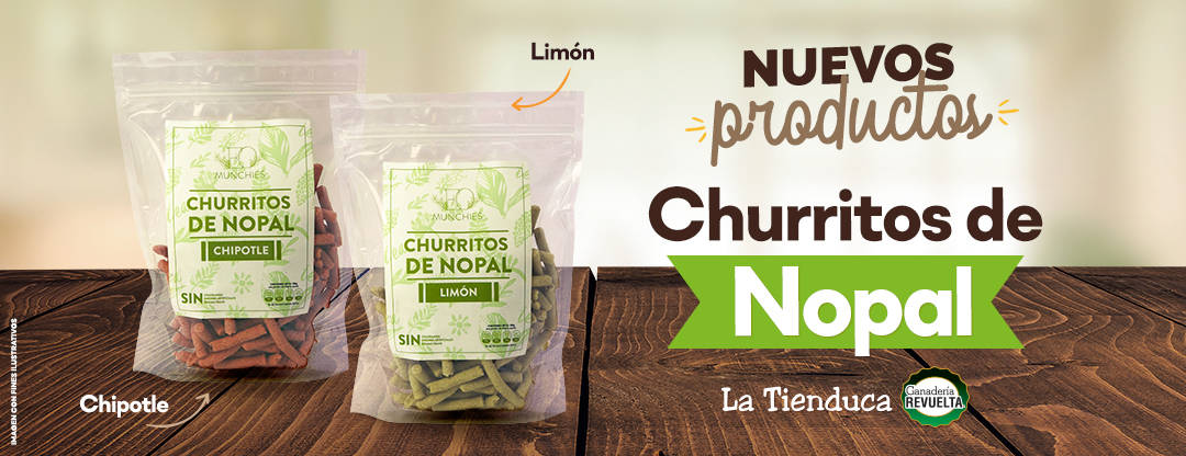 Churritos de Nopal